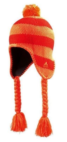 Vaude Kids Knitted Cap oranje