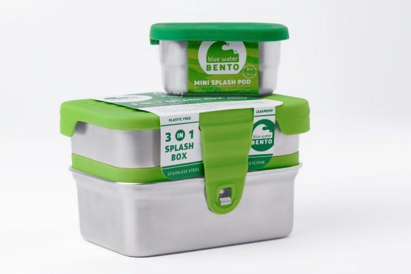 Ecolunchbox 3 in 1 Splash Box
