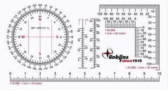 Recta Robijns Kaarthoekmeter