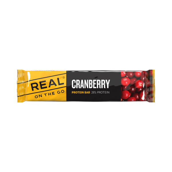 Real Cranberry Protein Bar