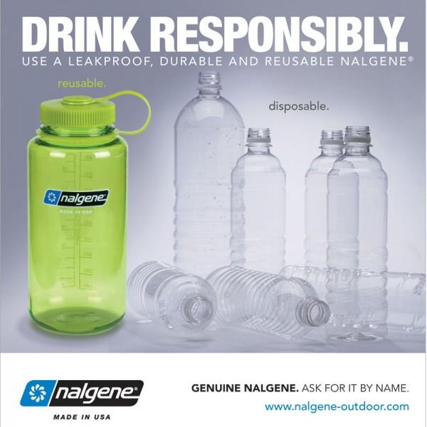 Nalgene WM Bottle 1.0L
