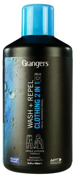 Grangers Wash & Repel Clothing 2in1 1Ltr.