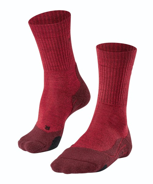 Falke TK2 Wool Dames rood